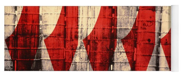 Barriers To Statehood, 1992 Screen Print On Canvas Yoga Mat