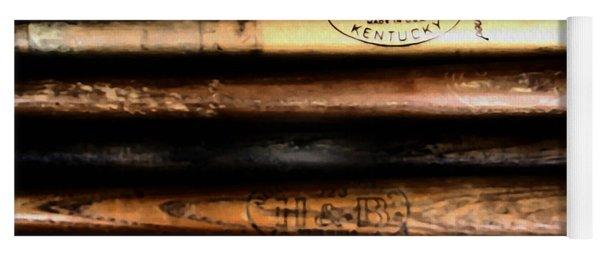 Baseball Bats Yoga Mat