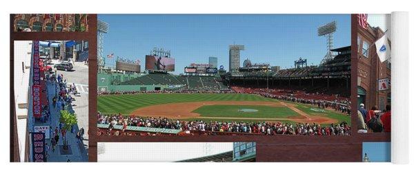 Baseball Collage Yoga Mat