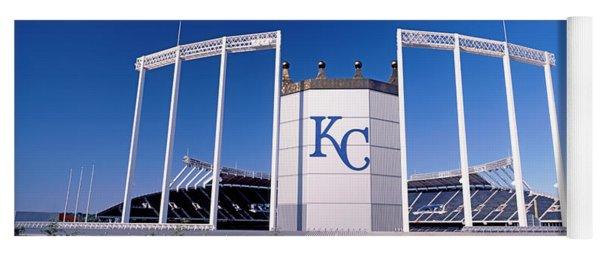 Baseball Stadium, Kauffman Stadium Yoga Mat
