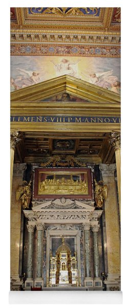 Basilica Of St John Lateran  Yoga Mat