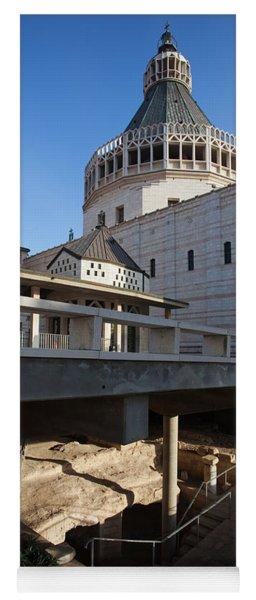 Basilica Of The Annunciation, Nazareth Yoga Mat