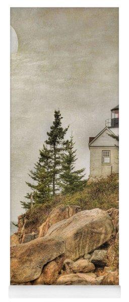 Bass Harbor Head Lighthouse. Acadia National Park Yoga Mat