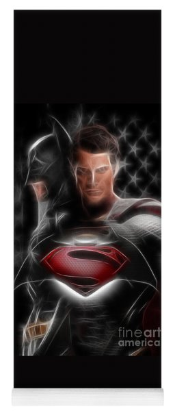 Batman Vs Superman  Yoga Mat