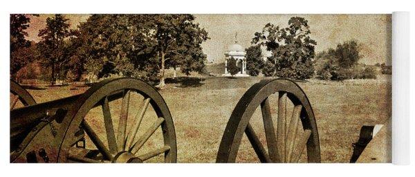 Battle Line At Antietam Yoga Mat