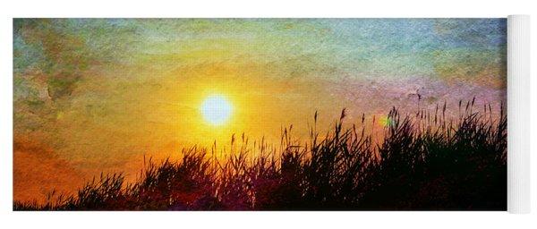 Beach Dune Sunset Yoga Mat