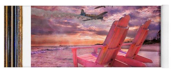 Beach Flight II  Yoga Mat
