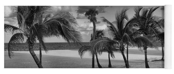 Beach Foliage Yoga Mat