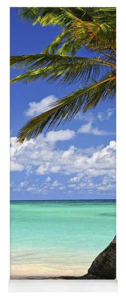 Beach Of A Tropical Island Yoga Mat