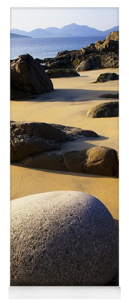 Beach Of Gold Yoga Mat