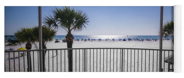 Beach Patio Yoga Mat