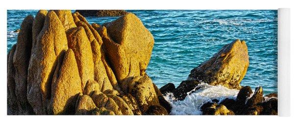 Beach Rocks Yoga Mat