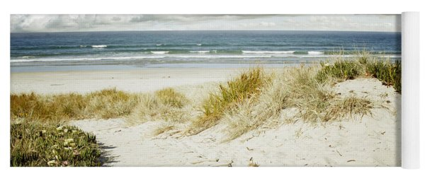 Beach View Yoga Mat