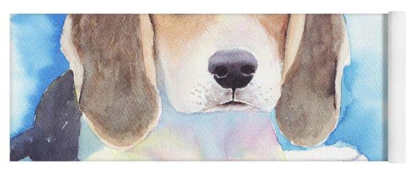 Beagle Baby Yoga Mat