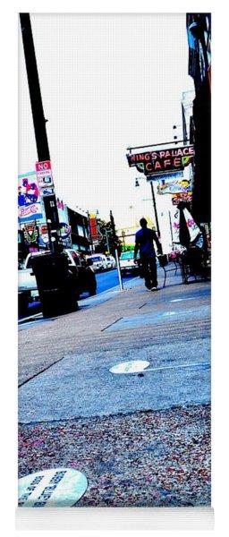 Beale Street Strolling Yoga Mat