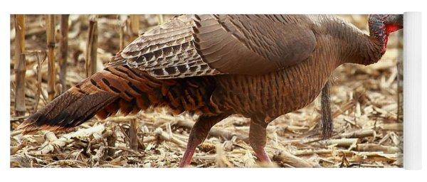 Bearded Wild Turkey Hen Yoga Mat