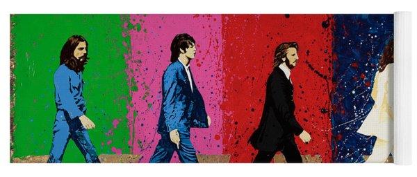 Beatles Crossing Yoga Mat