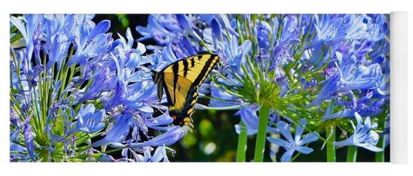 Beautiful Butterfly Yoga Mat