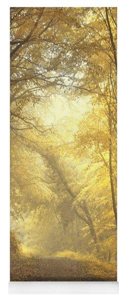 Beautiful Fall Yoga Mat