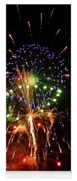 Beautiful Fireworks Works Yoga Mat