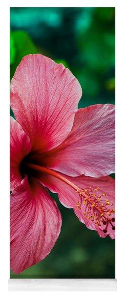Beautiful Hibiscus Yoga Mat