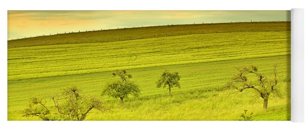 Beautiful Landscape In The Spring Yoga Mat