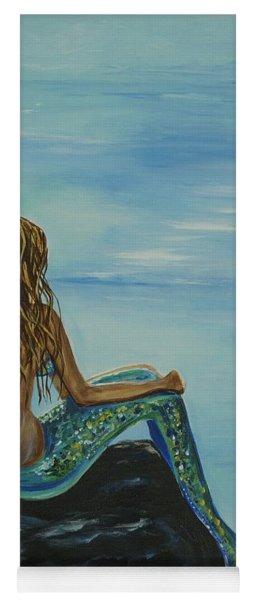 Beautiful Magic Mermaid Yoga Mat