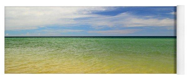 Beautiful St George Island Water Yoga Mat