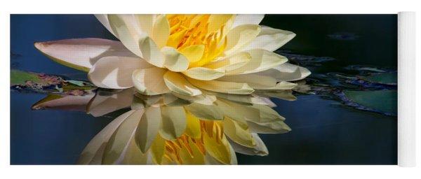 Beautiful Water Lily Reflection Yoga Mat