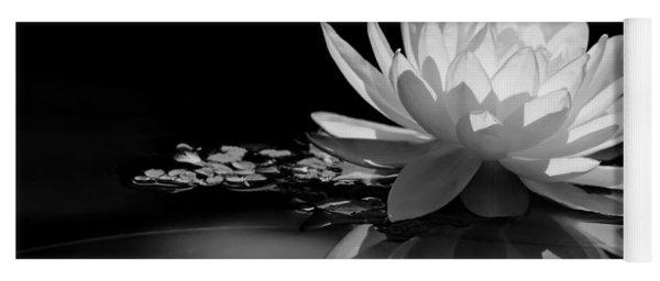 Beautiful Water Lily Reflections Yoga Mat