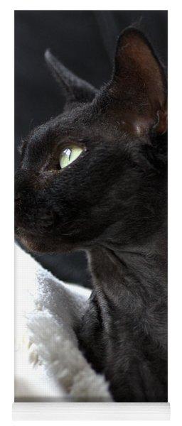 Beauty Of The Rex Cat Yoga Mat