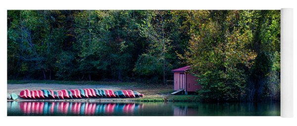 Beavers Bend Reflection Yoga Mat