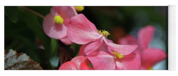 Begonia Beauty Yoga Mat
