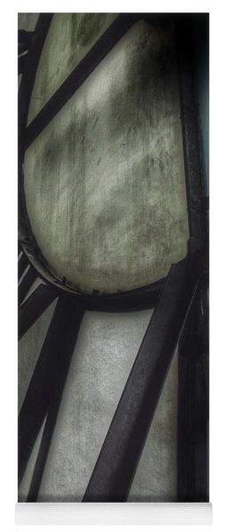 Behind The Clock - Emerson Bromo-seltzer Tower Yoga Mat