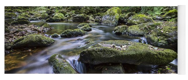 Belelle River Neda Galicia Spain Yoga Mat