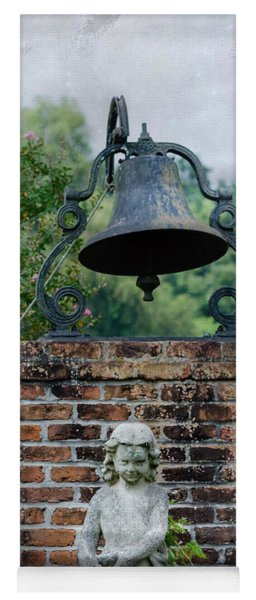 Bell Brick And Statue Yoga Mat