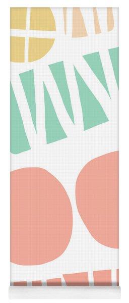 Bento 2- Abstract Shapes Art Yoga Mat