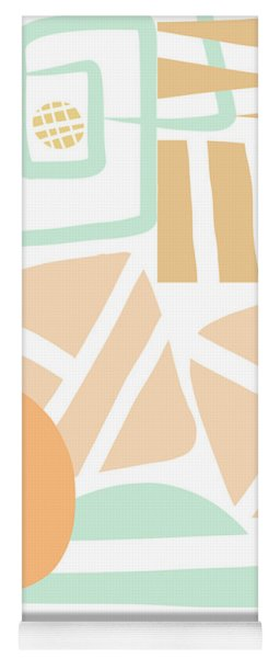 Bento 3- Abstract Shapes Art Yoga Mat