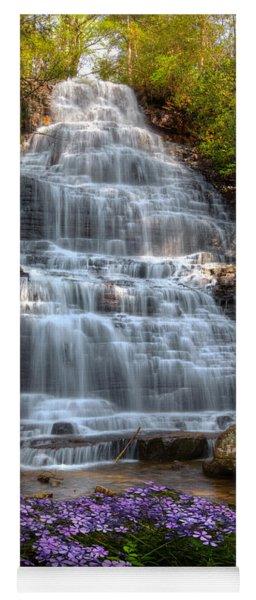 Benton Falls In Spring Yoga Mat