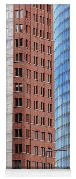 Berlin Buildings Detail Yoga Mat