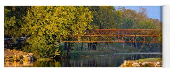 Berry Creek Bridge Yoga Mat