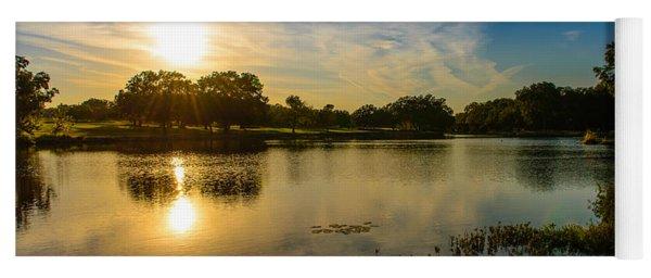 Berry Creek Pond Yoga Mat