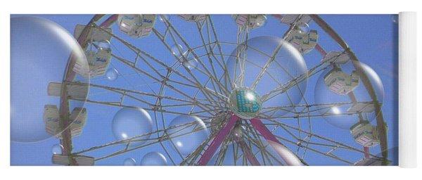 Big B Bubble Ferris Wheel Yoga Mat