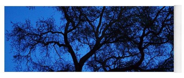 Big Blue Sky Oak Yoga Mat