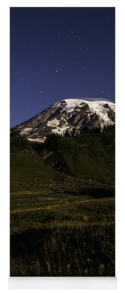 Big Dipper Over Mt Rainier Yoga Mat