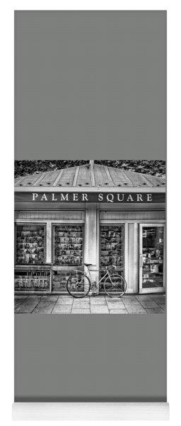 Bike At Palmer Square Book Store In Princeton Yoga Mat