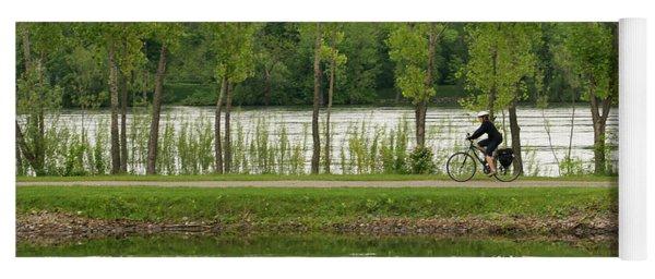 Bike Path Yoga Mat