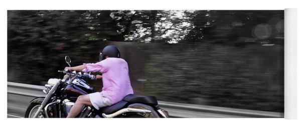 Biker Yoga Mat