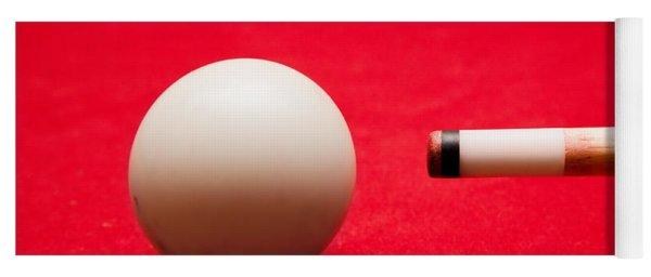 Billards Pool Game Yoga Mat