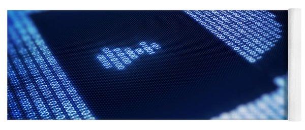 Electronic Data Security Yoga Mat